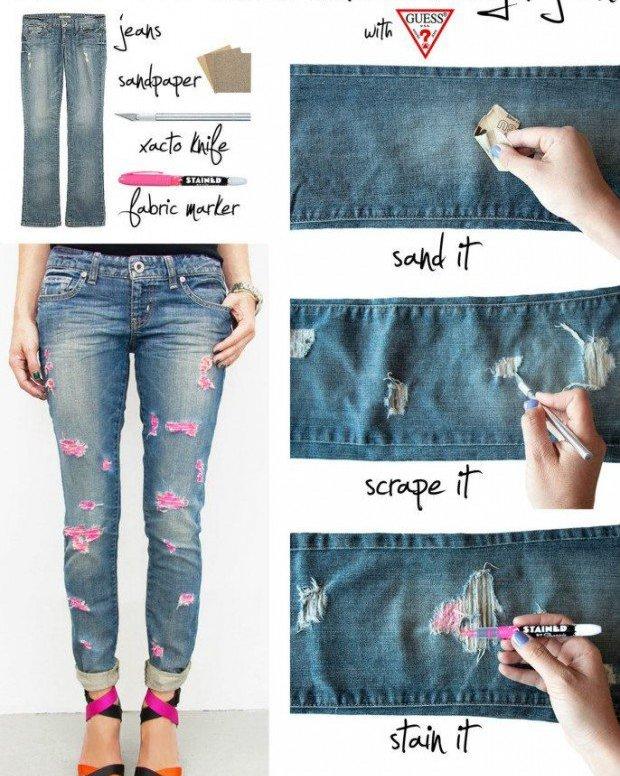 Як зі старого одягу зробити нові стильні речі35 ідей з фото 7ed98eff98139