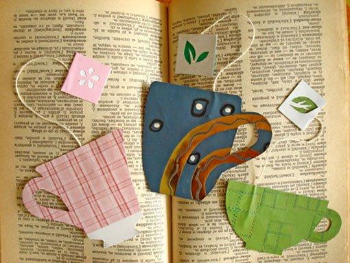 Необычная закладка для книги своими руками