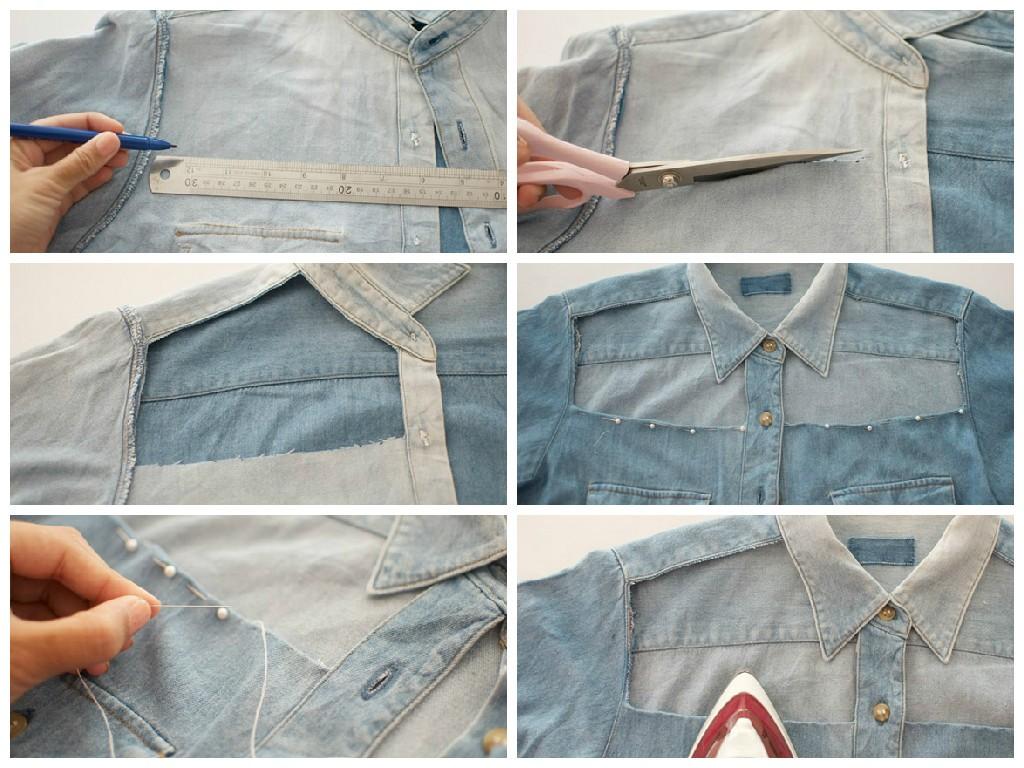 Как из рубашки сделать жилетку