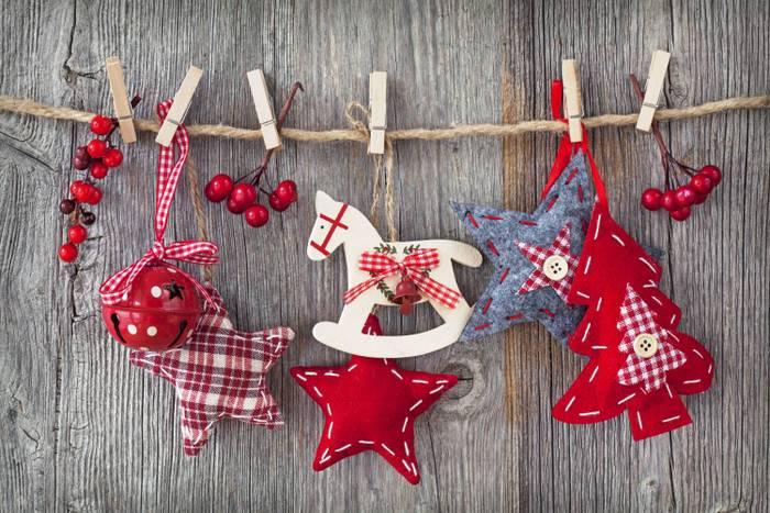 Праздничные украшения своими руками к новому году