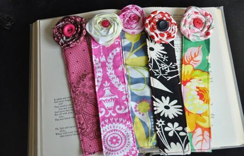 Оригинальные закладки своими руками