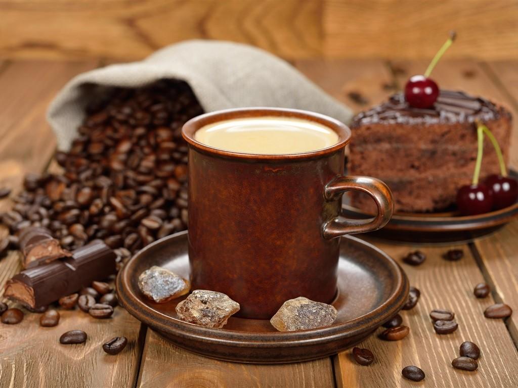 кофе зерна торт