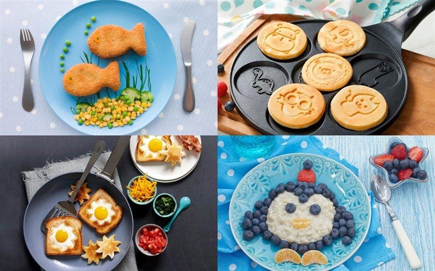 Идеи украшения блюда для детей