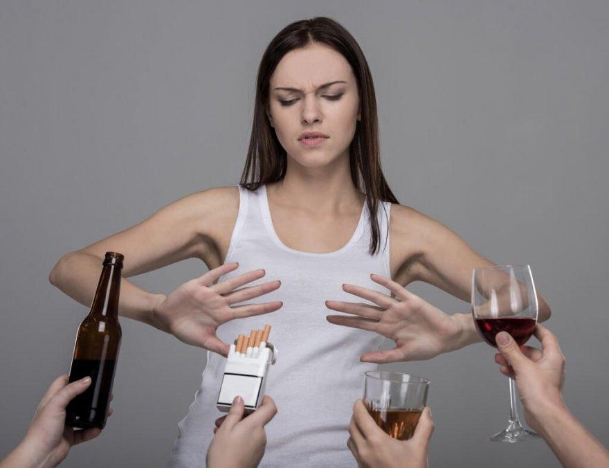 нет алкоголю и сигаретам