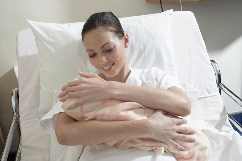 Женщина после родов