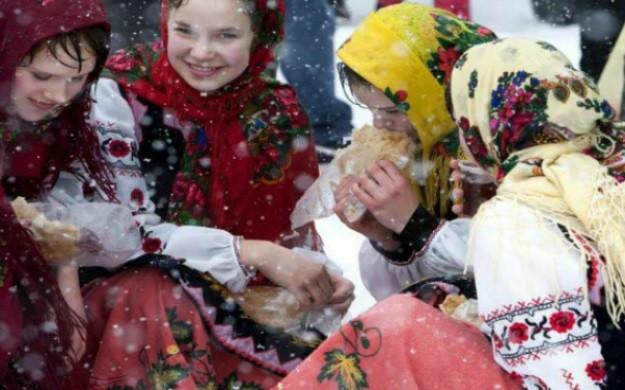 Масленица в «Парке Киевская Русь»