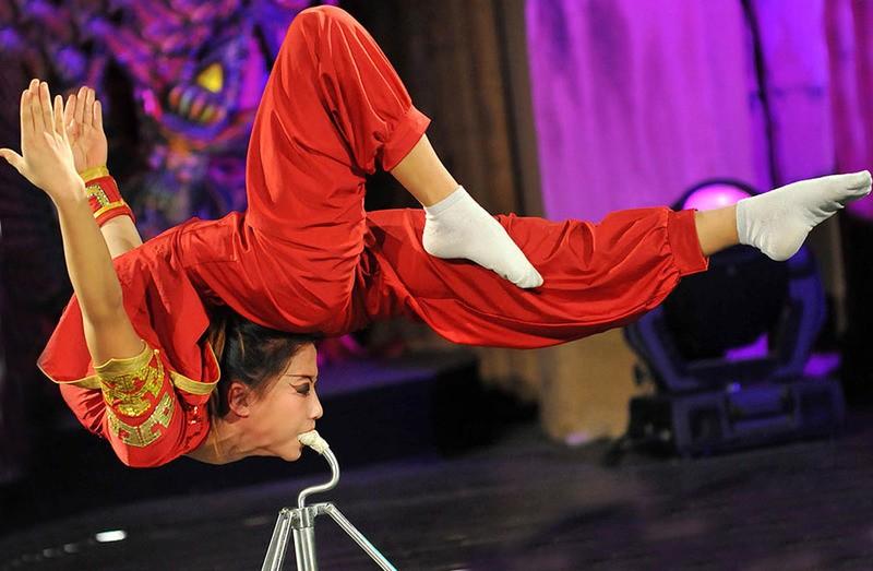Китайский цирк в Москве