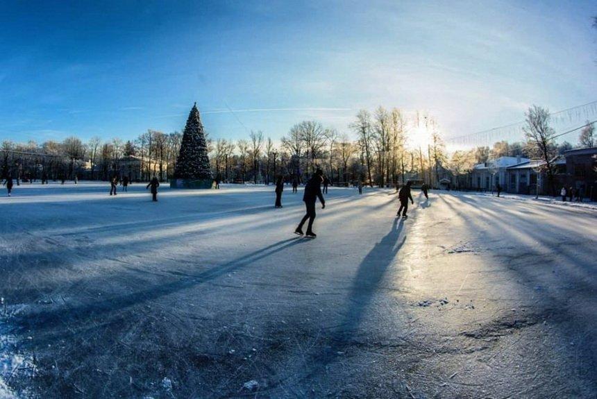 Каток в парке Коломенское