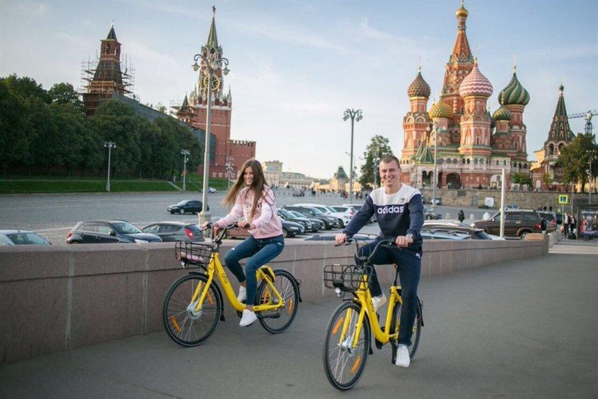 Велопрогулка по Москве