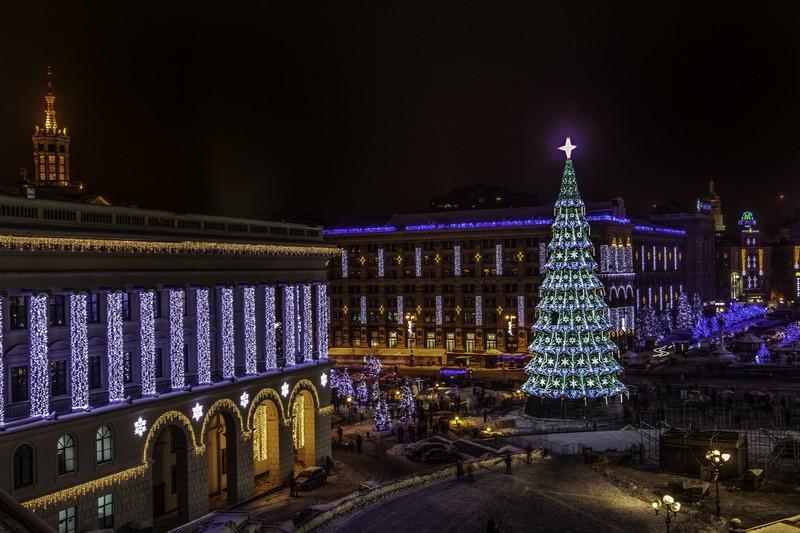 Киев в Новый Год