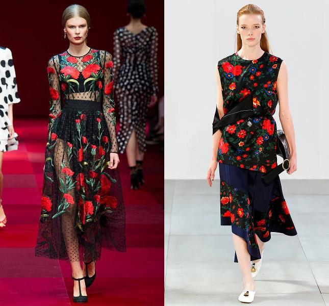 Важливим елементом більшості весняно-літніх колекцій світових дизайнерів  стали квіти. Будь-якого розміру і кольору 31b0651353394