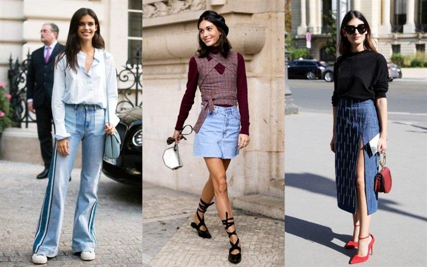 С чем носить джинсовые веши