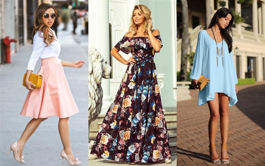 Модные платья и юбки