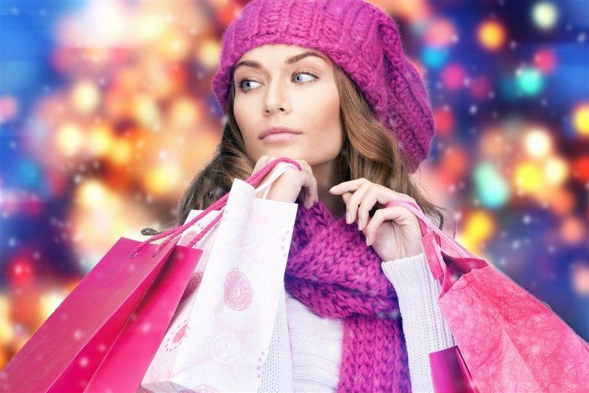 Фиолетовый гардероб зимы 2021