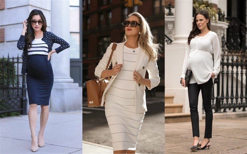 Деловая одежда для беременных