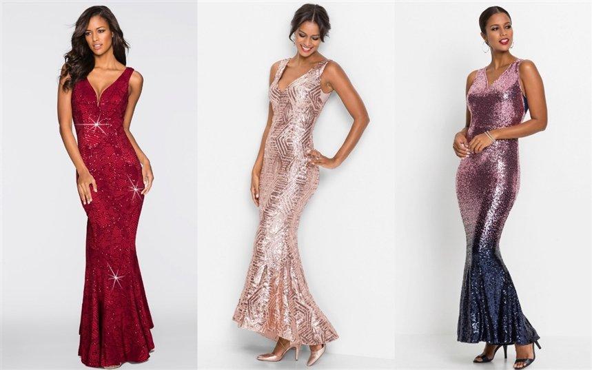 Вечерние платья в голливудском стиле