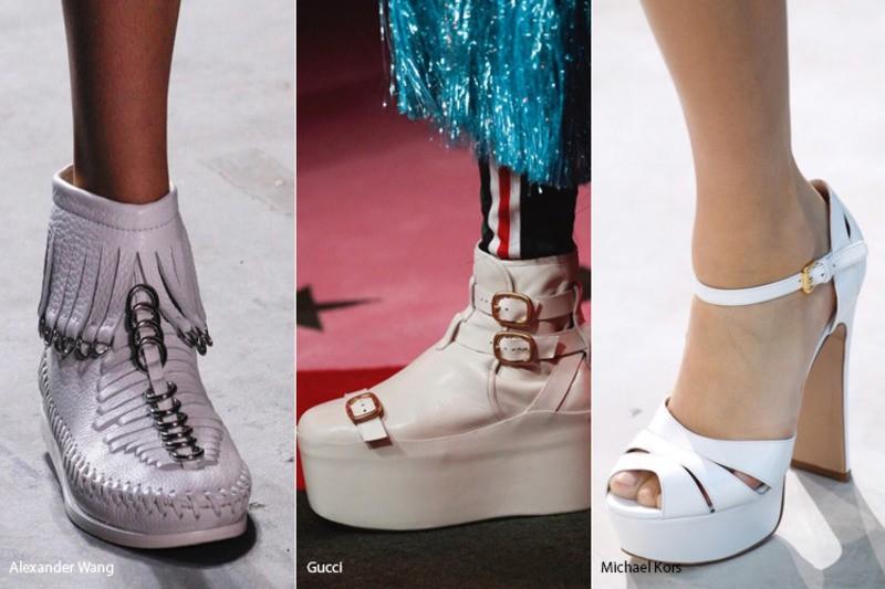 Модная обувь весна 2017 с