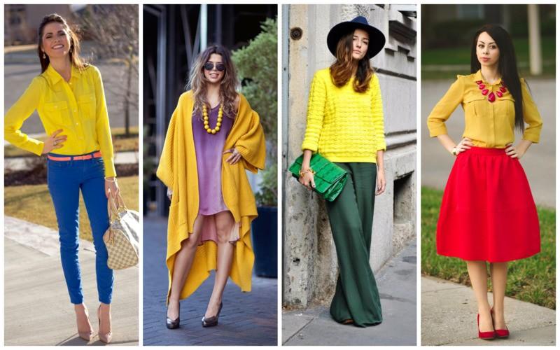 Самые модные сочетания в одежде