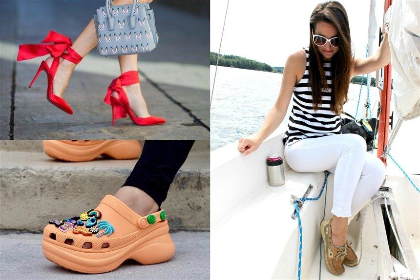Обувь лета 2021