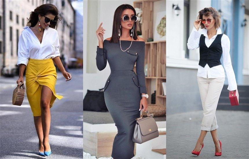 Офисная мода для женственных девушек