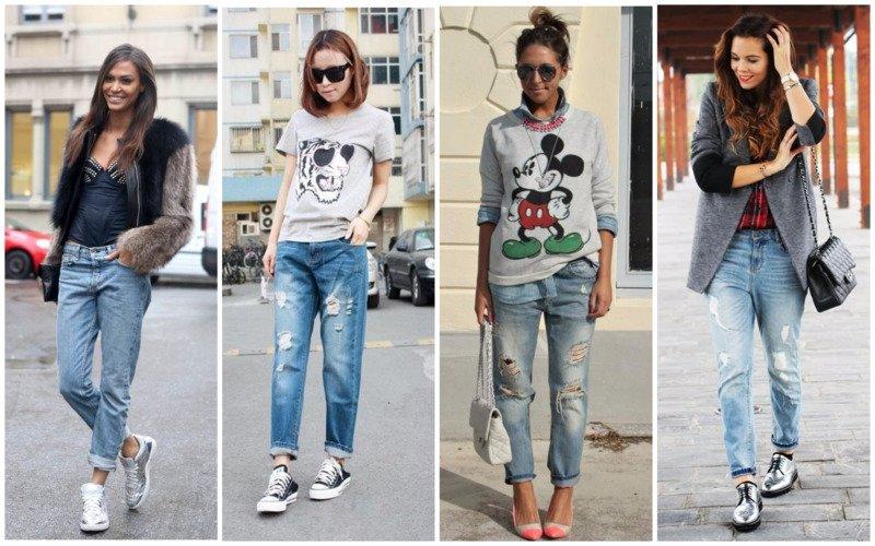 Антитренд весны подвороты на джинсах