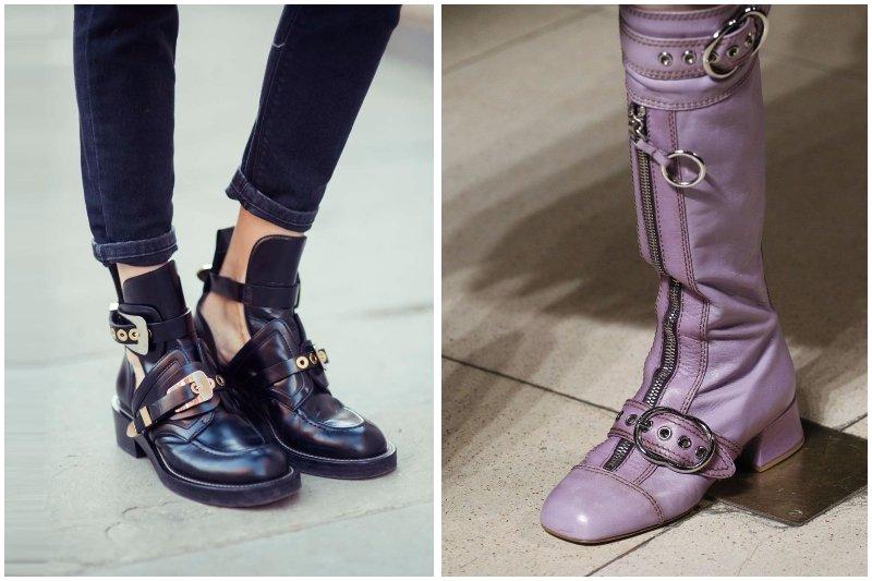 Обувь с пряжкой тренд осени 2017