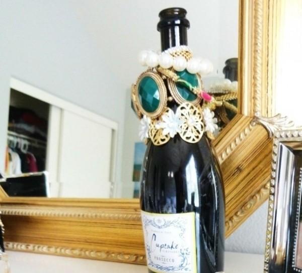Бутылка из-под вина
