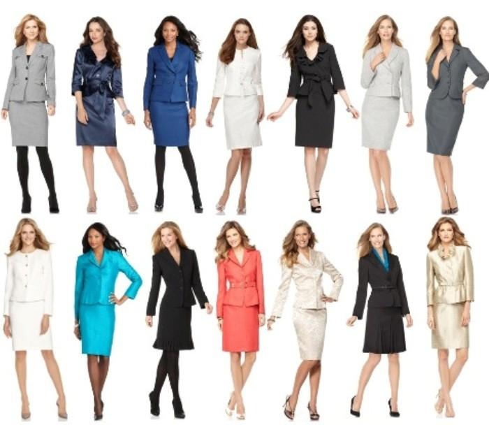 Купить офисный костюм женский
