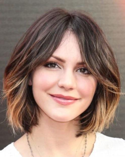 Покраска волос в стиле омбре на темные короткие волосы фото