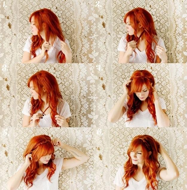 Как сделать волос рыжим