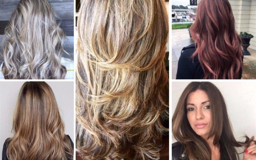 Вариации стрижки на длинные волосы