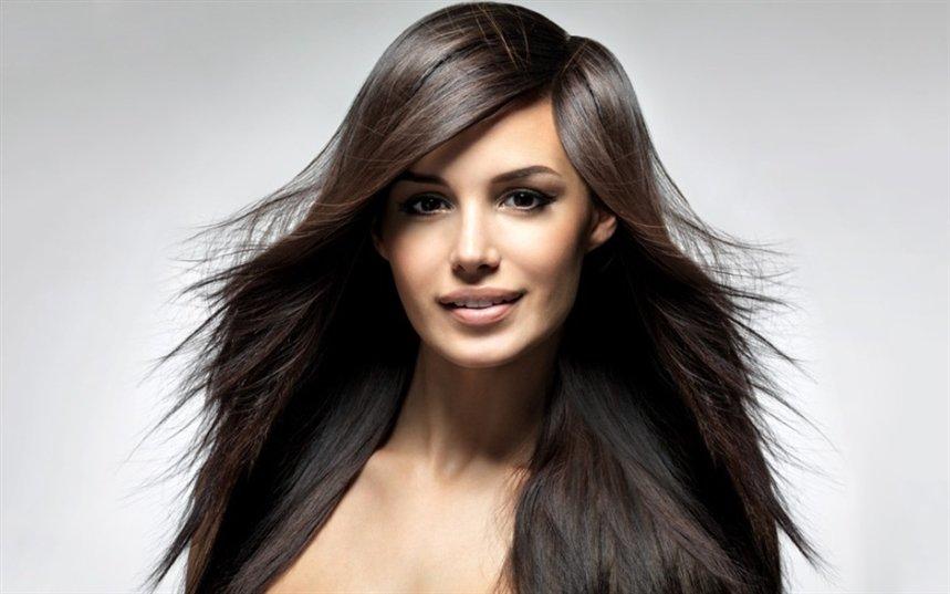 Стрижка-лесенка на длинные волосы