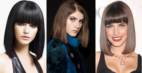 Стрижка каре на средние волосы 2017 женские