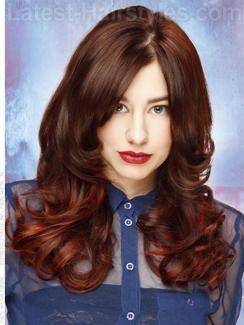 цвет волос карамель с шоколадом фото