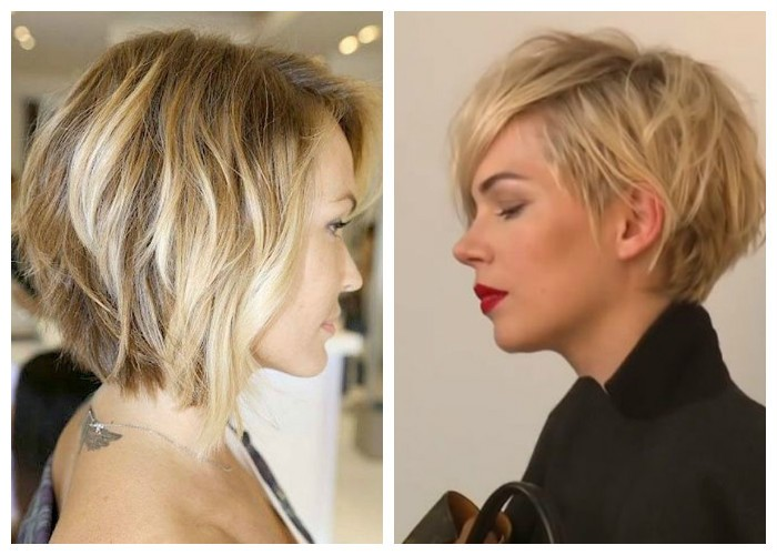 Картинки причёсок на короткие волосы