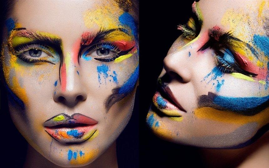 Сюрреалистический макияж к Хэллоуину