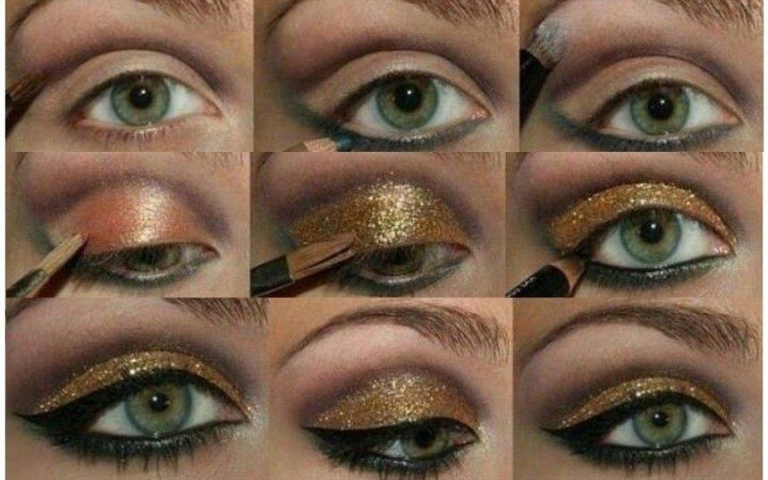 Дневной макияж для карих глаз по фото Дневной макияж для карих, зелёных, голубых и серых