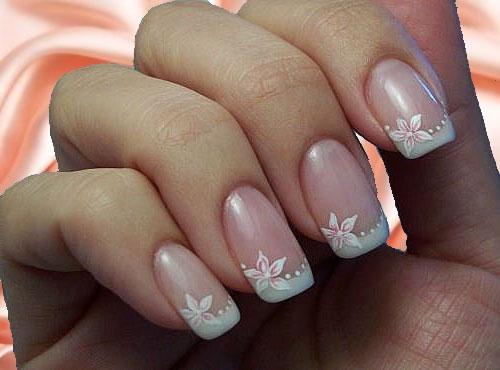 Красивые ногти свадебные