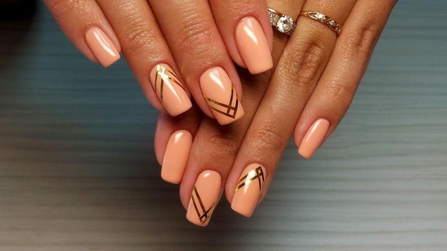 Красивое оформление ногтей гель лаком новинки