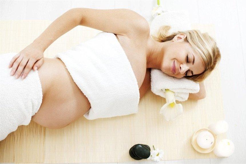 Расслабляющий массаж для беременных 35