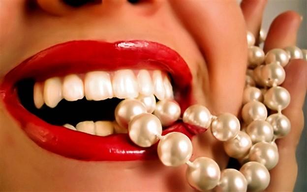 Черные зубы способ отбеливания