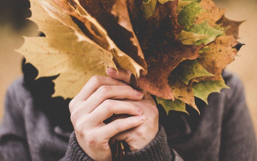 Кожа лица осенью