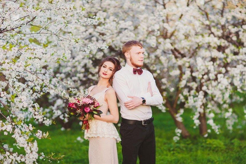 Свадьба весной: за или против. Идеи для весенней свадьбы