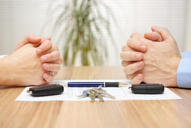 как поделить имущество при разводе с мужем