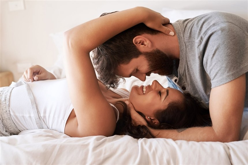 Эротичный Секс В Постели