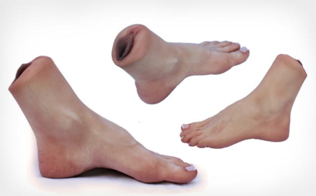 Нога-вагина