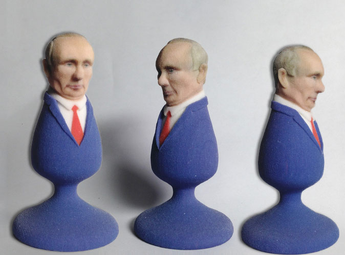 Анальная пробка «Путин»