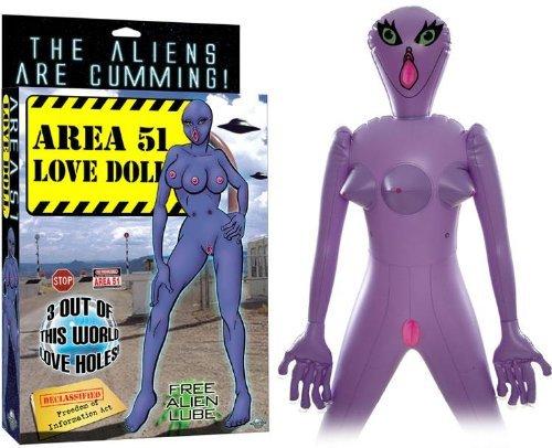 Кукла «Зона 51»