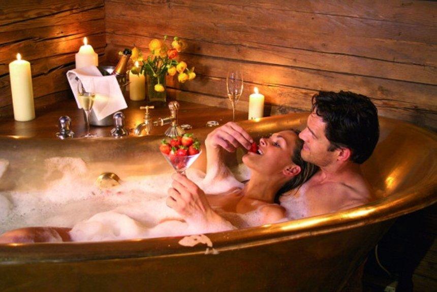 Романтичный Секс В Ванной