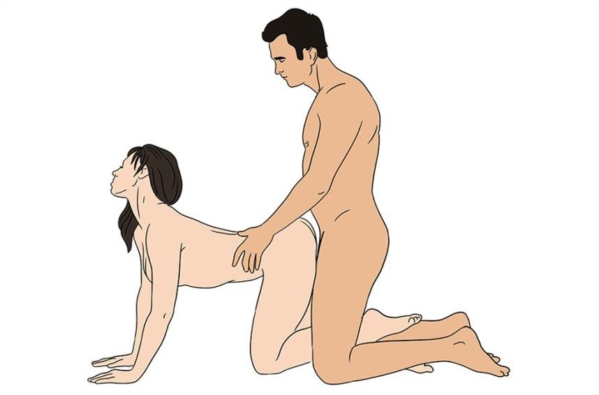 Позы в сексе которые нравятся мужчинаи